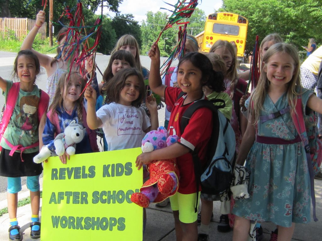 Revels Kids - After School Workshops - Home Page