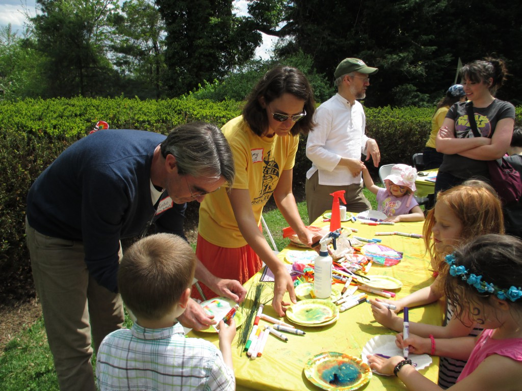 May Revels children's crafts
