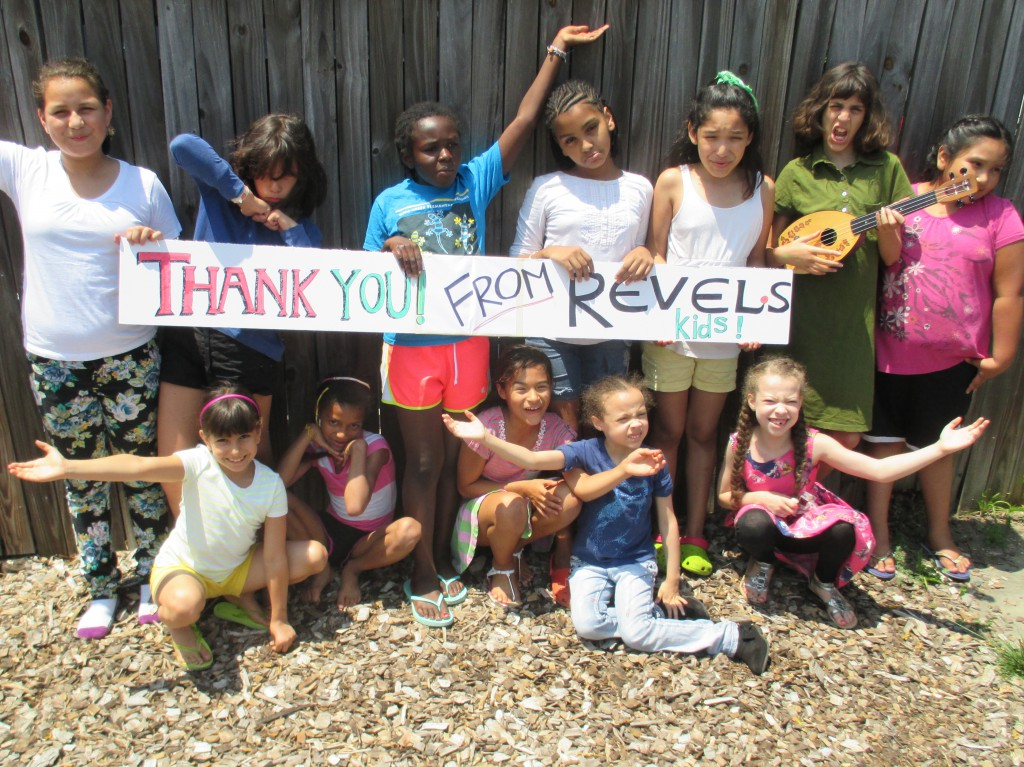 Thank you from Revels Kids