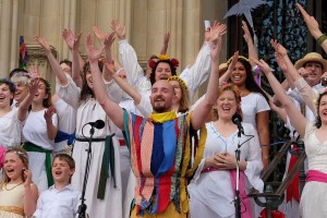 May Fool - May Revels at the National Cathedral