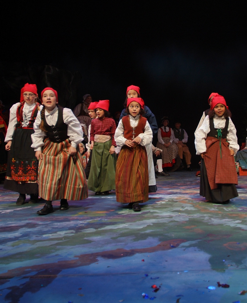 Tomte children (2005 Christmas Revels)
