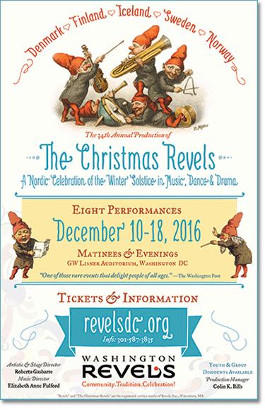 Christmas Revels 2016 Poster