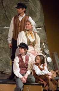 Finnish family (2005 Christmas Revels)