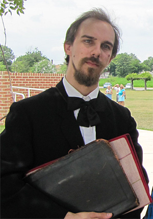John Nicolay (Keegan Cassady)