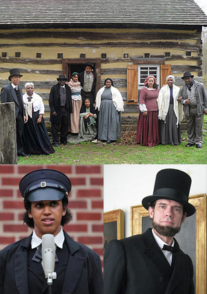 Jubilee Voices with Abraham Lincoln and Anna Maria Weems