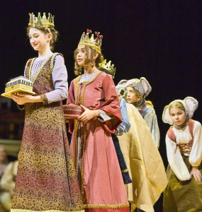 Children in a Christmas Revels