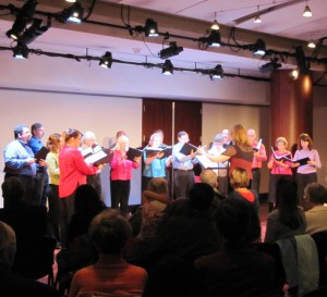 "Washington Revels Gallery Voices performing as part of ""Happenings at the Harman"""