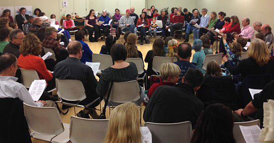 December 2015 Community Sing