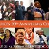July 31 - Jubilee Voices 10th Anniversary Celebration