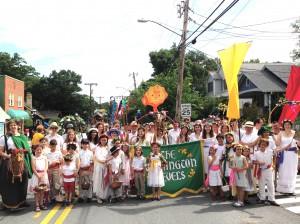 Parade marching