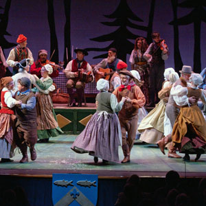 Dancing in the 2008 Christmas Revels