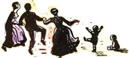 Transparent dancers