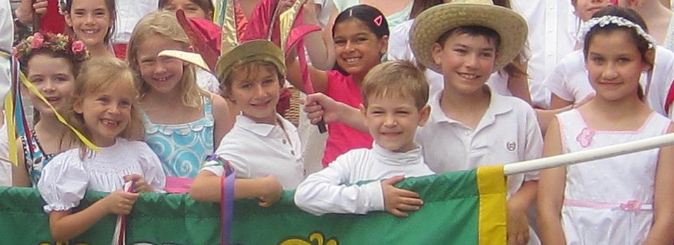 Revels parade