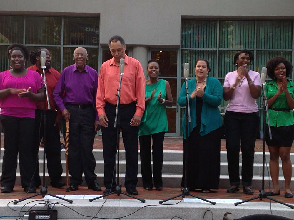 Jubilee Voices at the Friendship Heights concert series