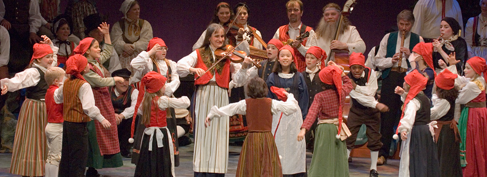 Children in Nordic Revels