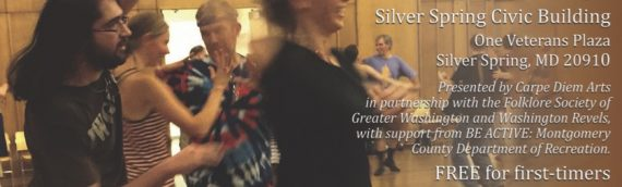 January 11 – Silver Spring Contra Dance