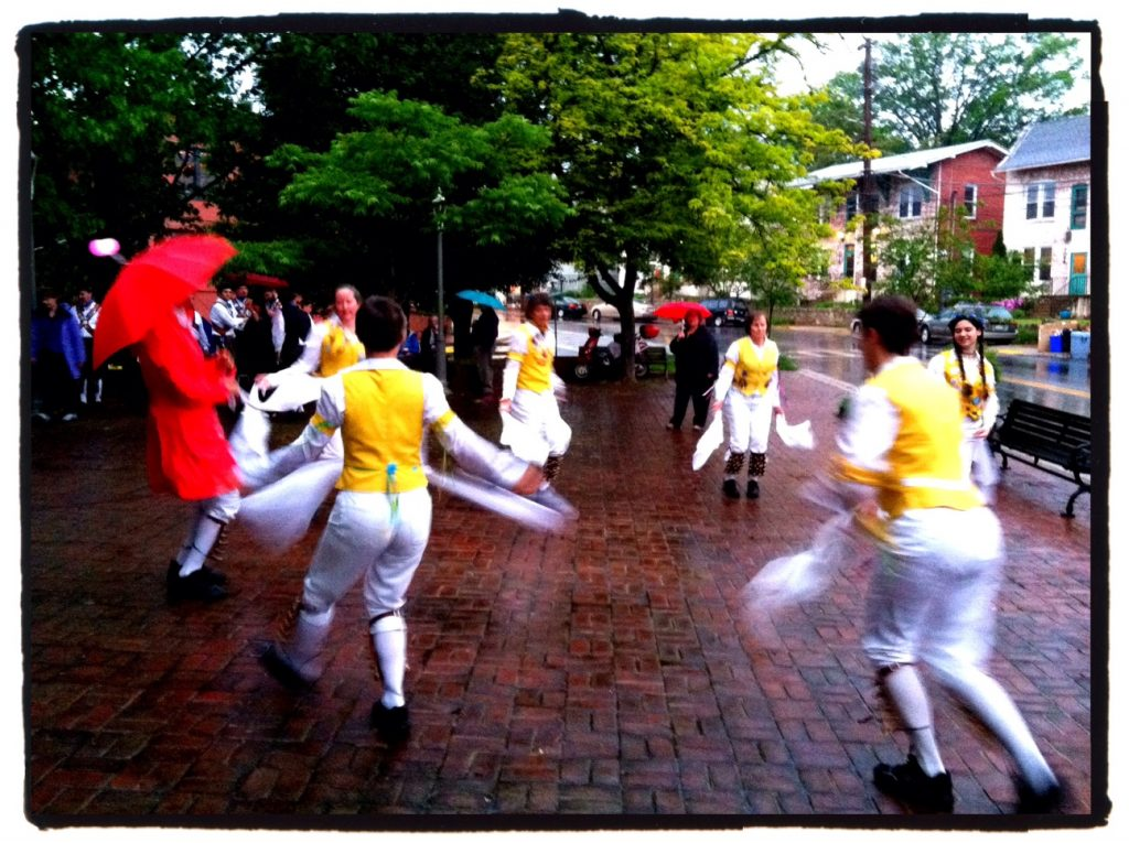 Morris Dancing in Takoma Park (photo by Betsy Fulford)