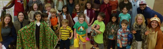 Raising Kids in the Revels World: Birthdays, Rhythms and Spring