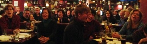 January 26 – Pub Sing at McGinty's