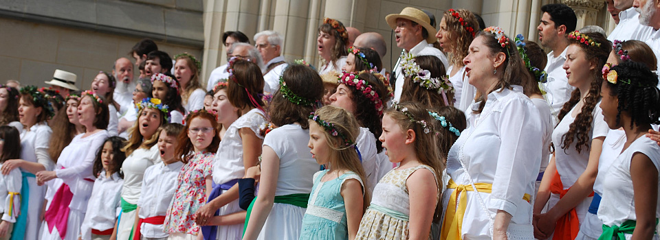 May Revels at the National Cathedral