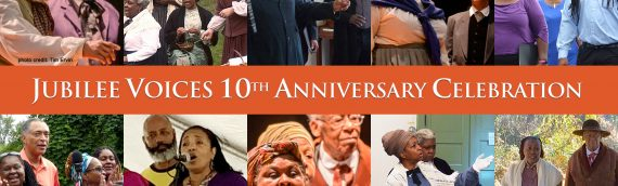 July 31 – Jubilee Voices 10th Anniversary Celebration