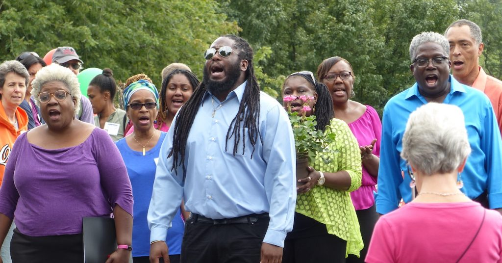 Washington Revels Jubilee Voices singers