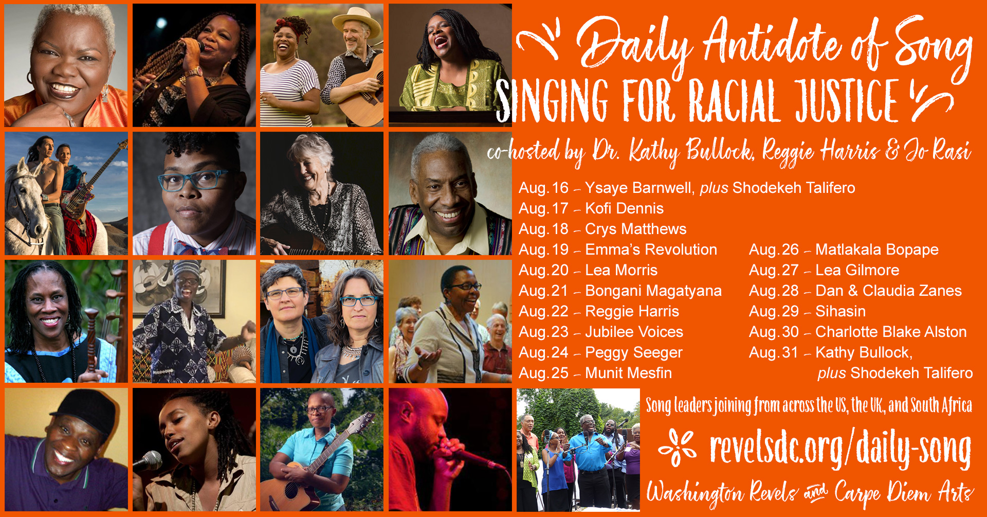 Singing for Racial Justice