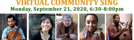 September 21 – Community Sing