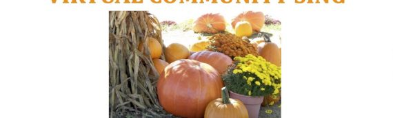 October 21 – Community Sing