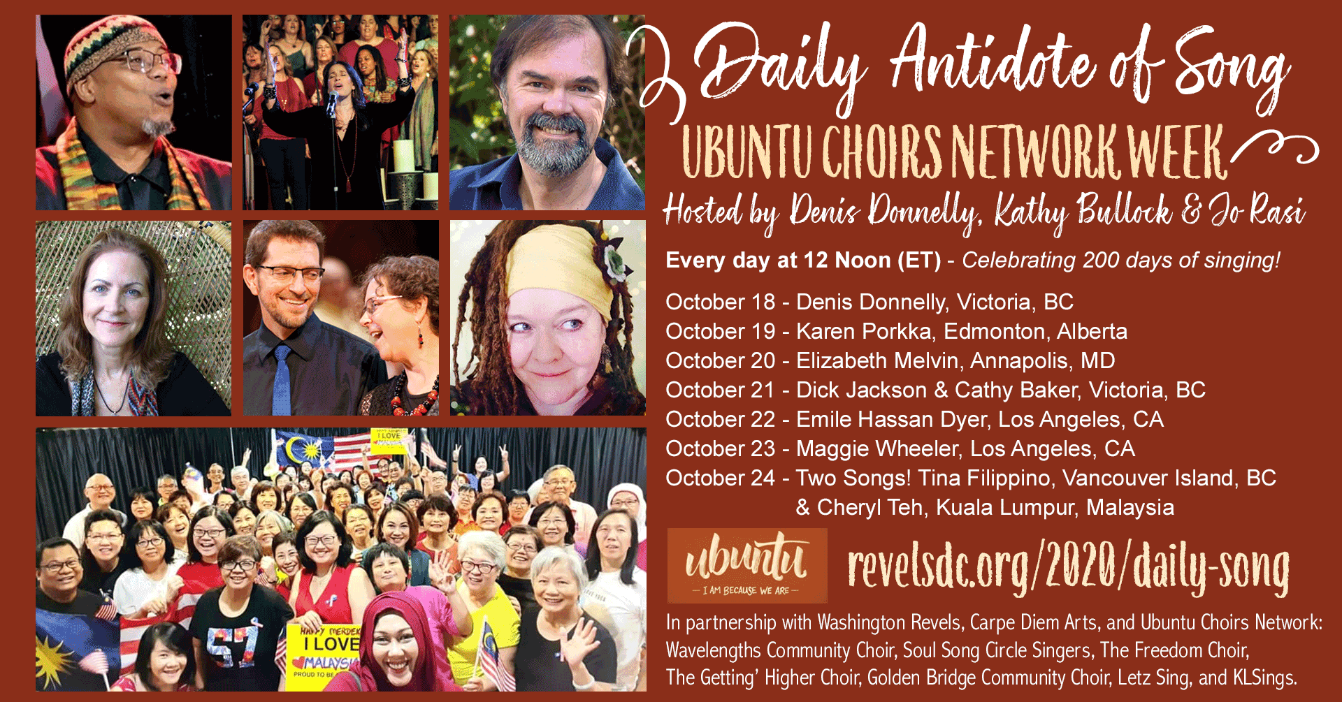 Ubuntu Choirs Network Week
