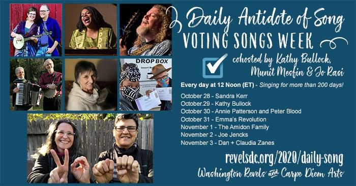 Voting Songs Week - Daily Antidote of Song