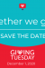 December 1 - Giving Tuesday