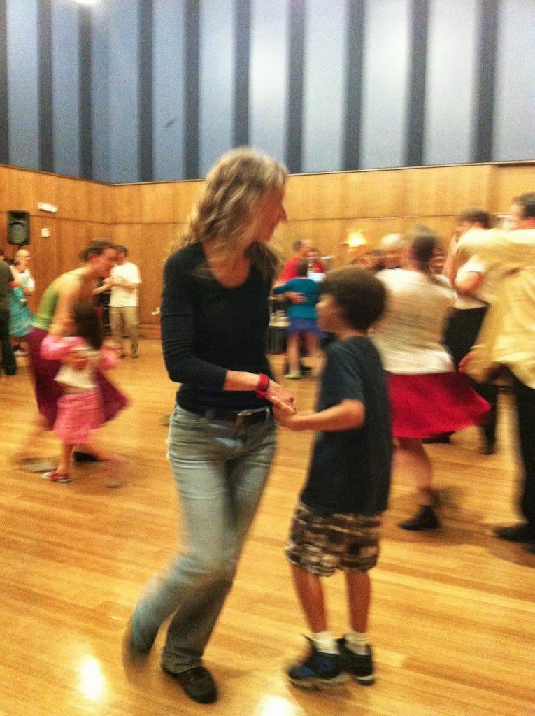 Jo Rasi at Community Dance